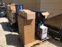 Nice delivery! Husqvarna products ready to go.